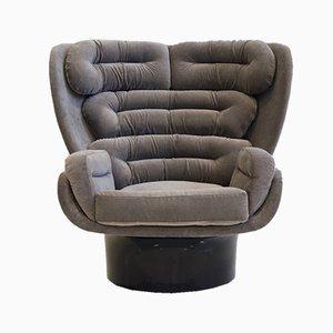 Elda Lounge Chair by Joe Colombo, 1960s