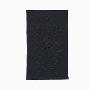 Black Stone Borg 01 Rug by Louise Roe