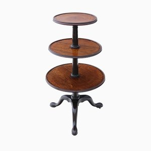Antique Mahogany Cake Stand