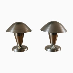 Table Lamps by Josef Hurka for Napako, 1930s, Set of 2