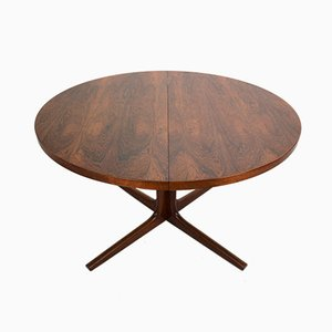 Rosewood Dining Table by Niels O. Møller for Gudme, 1960s