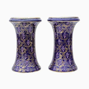 Vintage Vases from Royal Vienna, Set of 2