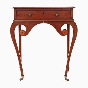 Table d'Appoint Victorienne Antique en Acajou