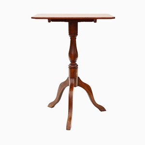 Table Victorienne Antique en Acajou et Bouleau, 1850s