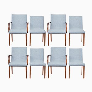 Mid-Century Scandinavian Teak Dining Chairs, Set of 8