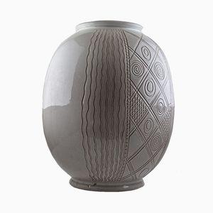 Große Mid-Century Vase von Wim Visser für Sphinx