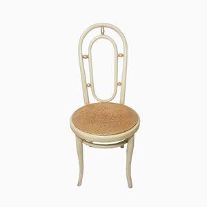 Vintage Stuhl mit Sitz aus Blattgold von Thonet