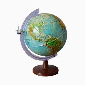 Leuchtender Vintage Globus