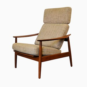 Vintage FD-164 Lounge Chair by Arne Vodder for Cado, 1960s