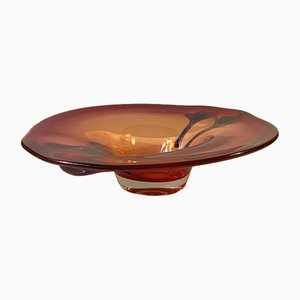Large Murano Centerpiece Bowl by Archimede Seguso, 1950s