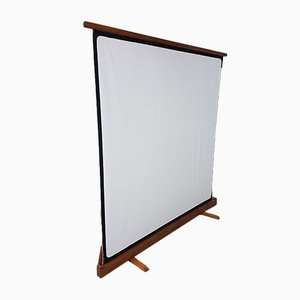 Mid-Century Folding School Projector Screen