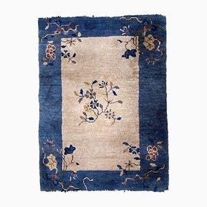 Antiker chinesischer Teppich, 1880er