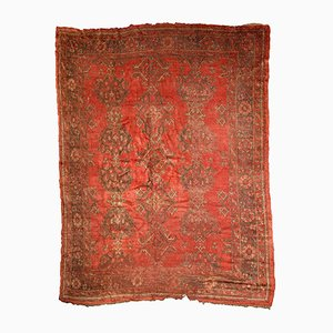 Antiker türkischer Oushak Teppich, 1900er