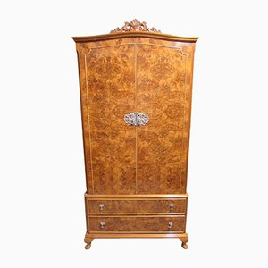Burr Walnut Wardrobe, 1920s