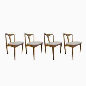 Chaises de Salle à Manger Juliane par Johannes Andersen pour Uldum Møbelfabrik, 1970s, Set de 4