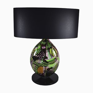 Green Heart Table Lamp by Eros Raffael