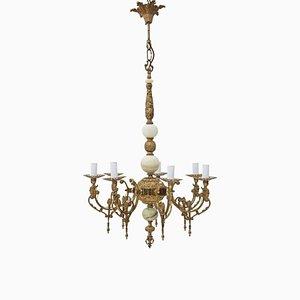 Lámpara de araña Ormolu vintage