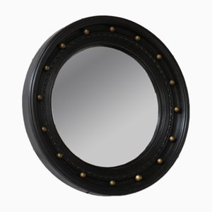 English Convex Porthole Mirror, 1940s