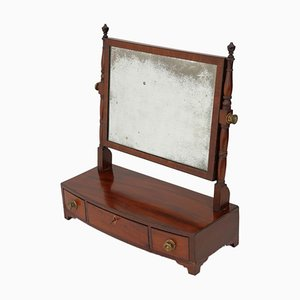 Antique Regency Mahogany Swing Mirror, 1820s