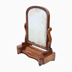 Antique Large Dressing Table Swing Mirror, 1870s