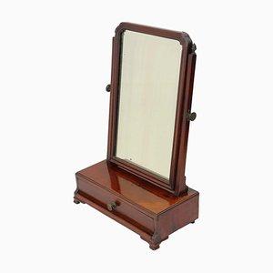Antique Georgian Mahogany Cheval Mirror