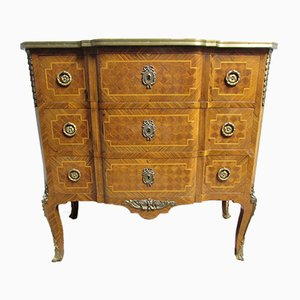 French Parquetry Commode, 1890s