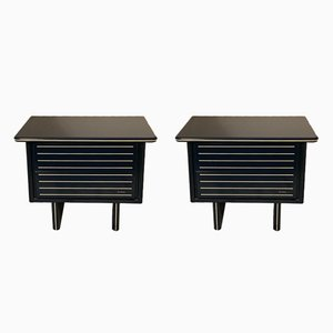 Italian Side Tables by Pierre Cardin, 1970s, Set of 2
