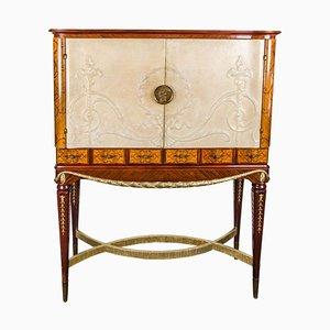 Mueble bar italiano Art Déco, años 20