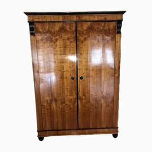 Rare Cherry Wood Armoire, 1810s