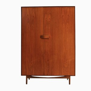 Mid-Century Teak Wardrobe by Ib Kofod-Larsen for G-Plan, 1960s