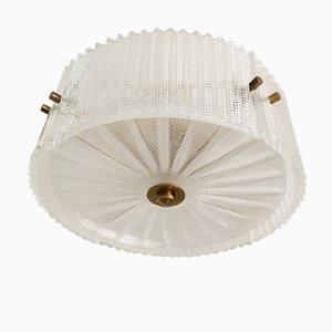 Einbaulampe mit Glasscheiben von Carl Fagerlund für Orrefors
