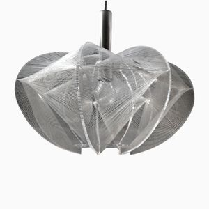 Swag Suspension Light by Paul Secon for Sompex, 1960s