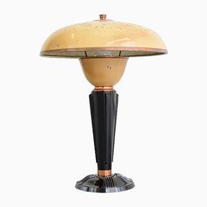 Modernistische Tischlampe von Eileen Gray für Jumo, 1930er