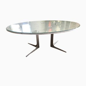 Marble Dining Table by Herbert Hirche for Christian Holzapfel, 1950s