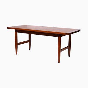 Mid-Century Teak Elevatable Coffee Table from HMB Möbler, 1960s