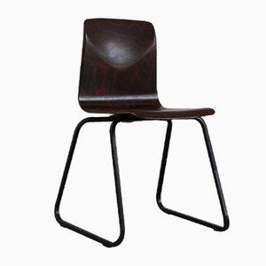 Chaise S23 Vintage Noire de Galvanitas