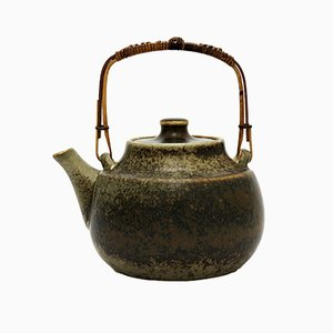 Swedish Stoneware Tea Pot by Carl-Harry Stålhane for Rörstrand, 1960s