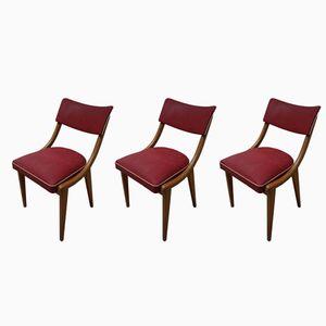 Ben Esszimmerstühle, 1960er, 3er Set