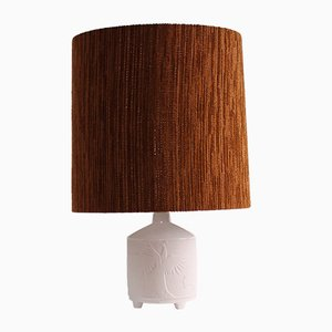 Vintage Biscuit Ceramic Table Lamp from Kaiser, 1960s