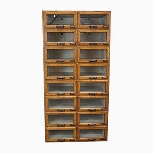 Mueble de mercería de roble, años 30