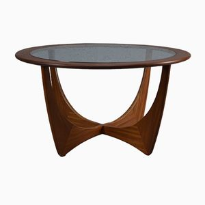 Mid-Century Round Teak Astro Coffee Table Victor Wilkins for G-Plan