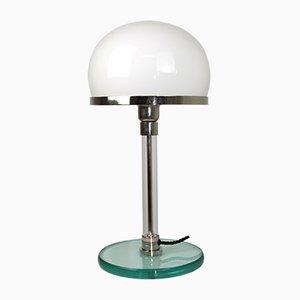 Vintage Model WG24 Bauhaus Table Lamp by Wilhelm Wagenfeld