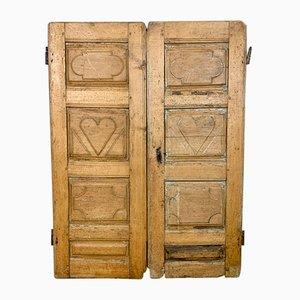 Antike französische Fensterladen, 18. Jh.