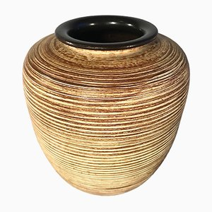 Vaso in ceramica di Höhr Grenzhausen, Germania, anni '50