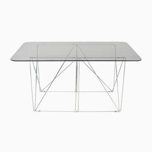Tavolo da pranzo o scrivania di Max Sauze, anni '70