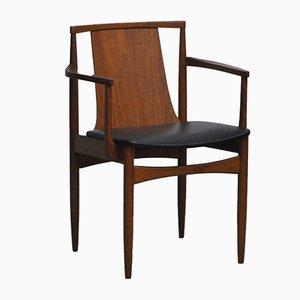 Sedia da scrivania in teak, anni '60