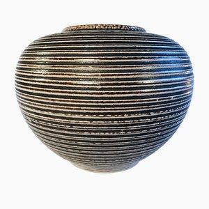 Jarrón alemán de cerámica de Wim Mühlendick para Höhr Grenzhausen, años 50