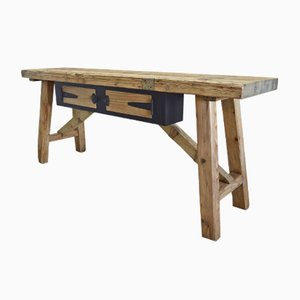 Mesa de carpintería antigua