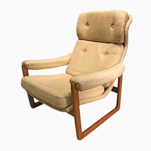 Vintage Swedish Armchair, 1970s