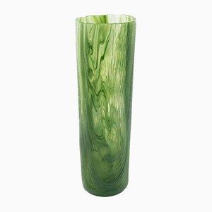 Vase Tronchi en Verre de Murano Vert par Toni Zuccheri pour Venini, 1960s